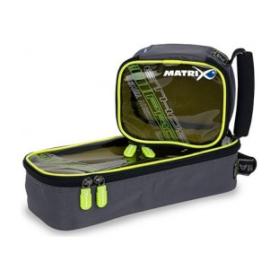 TROUSSE PRO ACCESSORY BAG CLEAR TOP LIME LINING