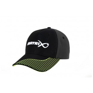 CASQUETTE GREY / LIME BASEBALL HAT