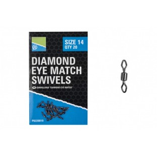 EMERILLON DIAMOND EYE MATCH SWIVELS