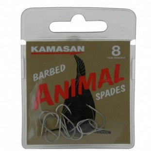 HAMECON NON MONTE ANIMAL SPADE BARBED