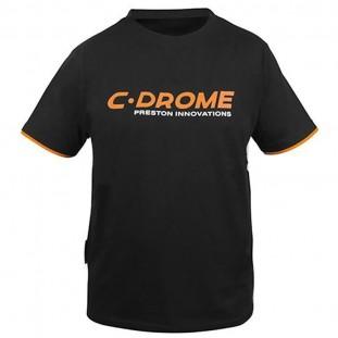 C-DROME BLACK TEE SHIRT