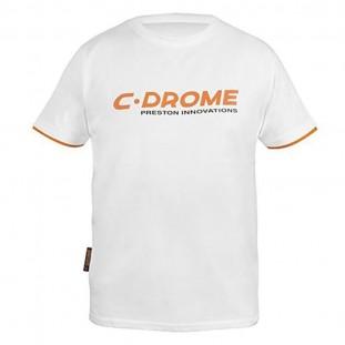 C-DROME WHITE TEE SHIRT