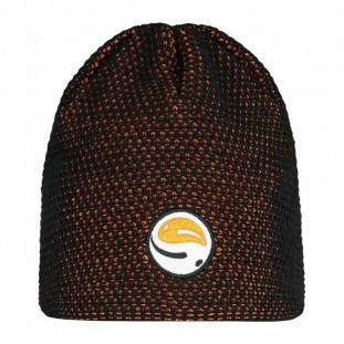 SKULLCAP BLACK/ ORANGE