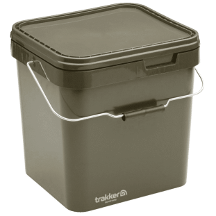 OLIVE SQUARE CONTAINER 17L