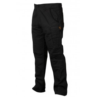 PANTALON COMBATS BLACK / ORANGE