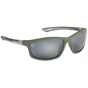 LUNETTE GREEN / SILVER WITH GREY LENSE