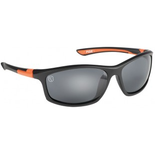 LUNETTE BLACK / ORANGE WITH GREY LENSE