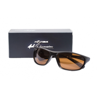 LUNETTE WARPS GLOSS BLACK/BROWN LENS