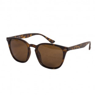 SHOREDITCH MATT TORTOISE SHELL/ BROWN LENS