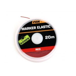MARKER ELASTIC X 20M RED