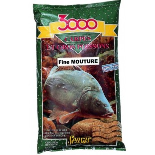 AMORCE 3000 CARPE FINE MOUTURE 1KG