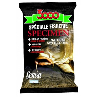 AMORCE 3000 SPECIMEN SPEC.FISH.NAT.SWEET CORN 1KG