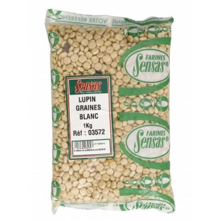 LUPIN GRAINES BLANC 1KG